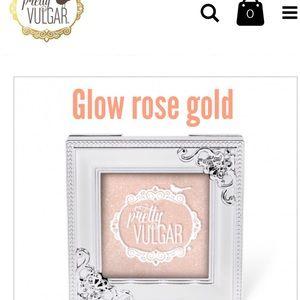 "Pretty vulgar glow ""shimmering swan"""